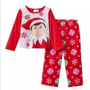 Other - Elf on the shelf 2 piece pajama set